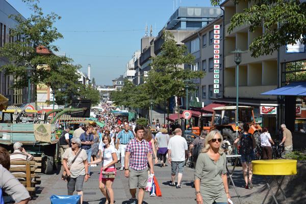 Fußgängerzone Darmstadt