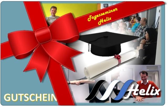Geschenk-Gutschein für Tagesseminar Helix
